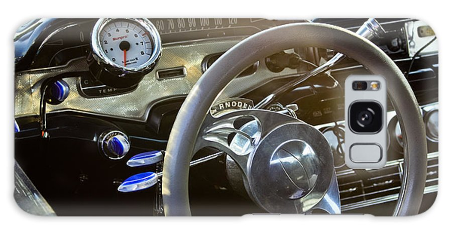 Transportation Galaxy S8 Case featuring the photograph 1958 Chevy Impala Dashboard by Dennis Coates