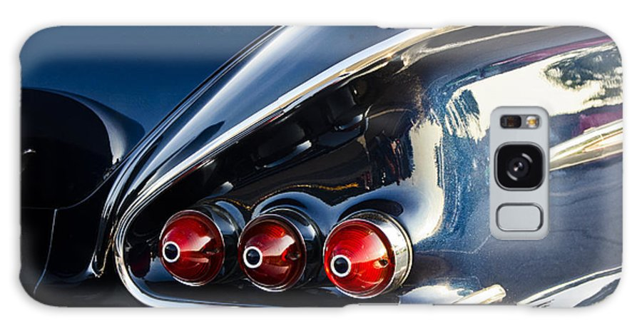 Transportation Galaxy S8 Case featuring the photograph 1958 Chevy Impala Tail Lights by Dennis Coates