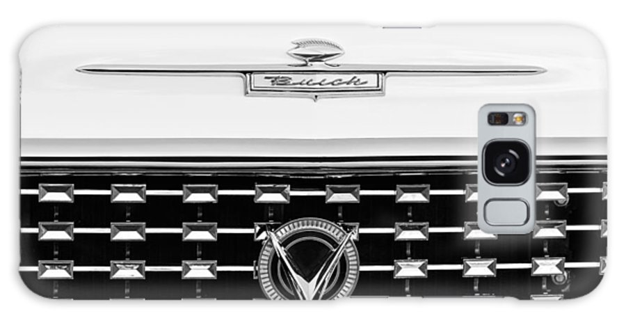 1959 Buick Le Sabre Convertible Grille Emblems Galaxy S8 Case featuring the photograph 1959 Buick Lesabre Convertible Grille Emblems by Jill Reger