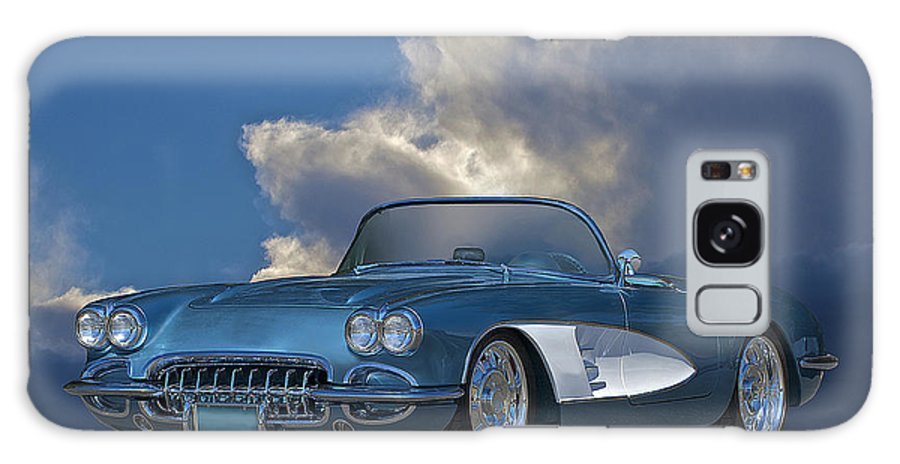 Auto Galaxy S8 Case featuring the photograph 1959 Corvette Roadster 1 by Dave Koontz