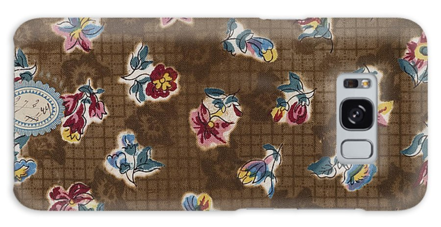 1800-1899 Galaxy S8 Case featuring the drawing French Fabrics First Half Of The Nineteenth Century 1800 by Litz Collection