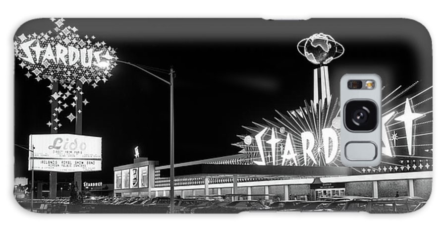Photography Galaxy Case featuring the photograph 1960s Night Scene Of The Stardust by Vintage Images