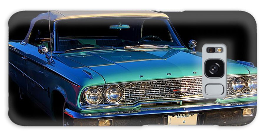 Ford Galaxy S8 Case featuring the photograph 1963 Ford Galaxy by Davandra Cribbie