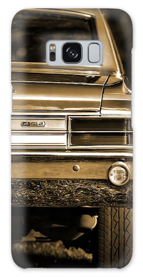 Red Galaxy S8 Case featuring the photograph 1965 Olds 442 by Gordon Dean II