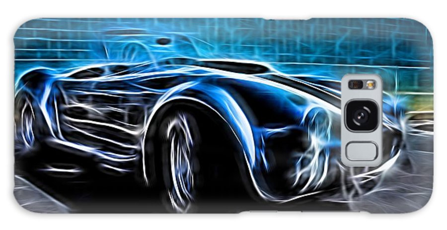 Car Galaxy S8 Case featuring the photograph 1965 Shelby Cobra - 4 by Becca Buecher