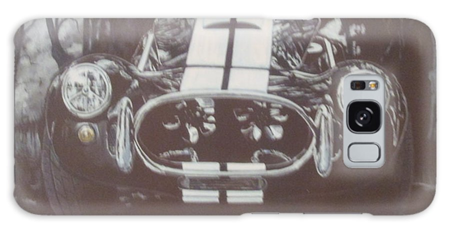 1966 Ford 427 Shelby Corbra Galaxy S8 Case featuring the painting 1966 Ford 427 Shelby Cobra/venom  by Russell Boothe
