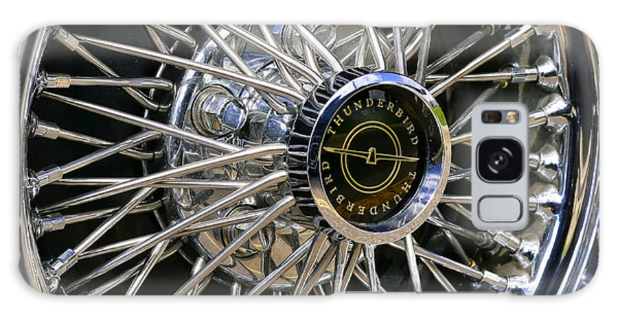 1967 Galaxy S8 Case featuring the photograph 1967 Ford Thunderbird Wire Wheel by Gordon Dean II
