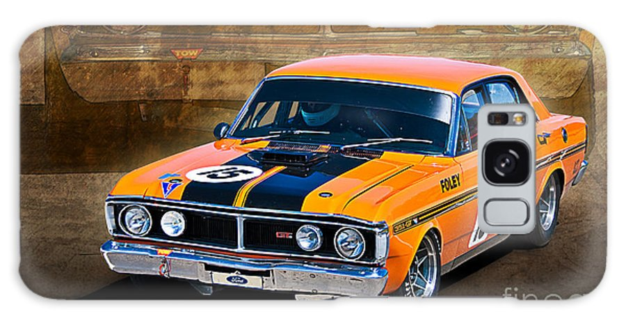 Ford Galaxy S8 Case featuring the photograph 1971 Ford Falcon Xy Gt by Stuart Row
