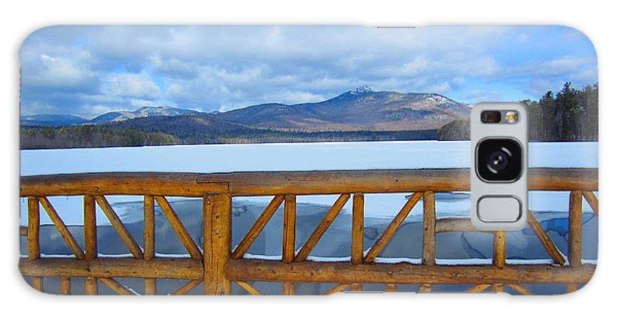 Nh Galaxy S8 Case featuring the photograph Winter At Chocorua Lake by Jeffrey Akerson