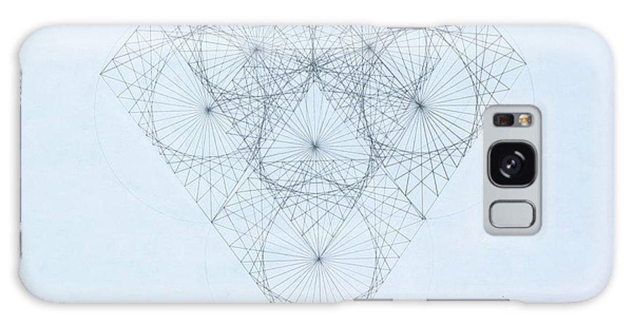 Jason Padgett Galaxy S8 Case featuring the drawing Diamond Quanta by Jason Padgett