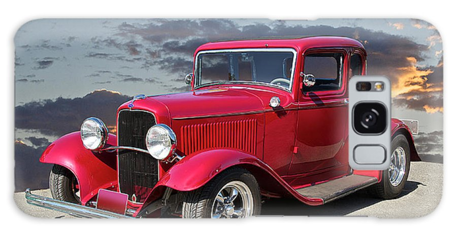 Coupe Galaxy S8 Case featuring the photograph 1932 Ford '5 Window' Coupe by Dave Koontz