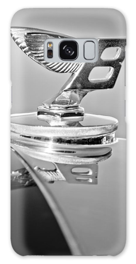 1950 Bentley Mk Vi Sports Saloon Hood Ornament Galaxy S8 Case featuring the photograph 1950 Bentley Mk Vi Sports Saloon Hood Ornament by Jill Reger
