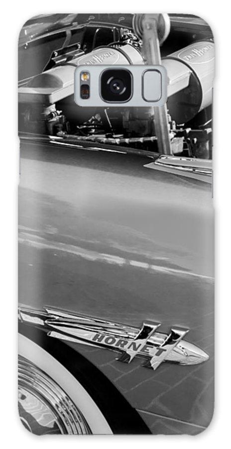 1953 Hudson Hornet Sedan Engine Galaxy S8 Case featuring the photograph 1953 Hudson Hornet Sedan Engine by Jill Reger
