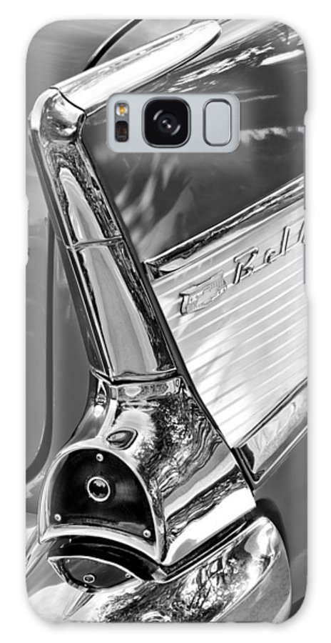 1957 Chevrolet Belair Taillight Galaxy S8 Case featuring the photograph 1957 Chevrolet Belair Taillight by Jill Reger