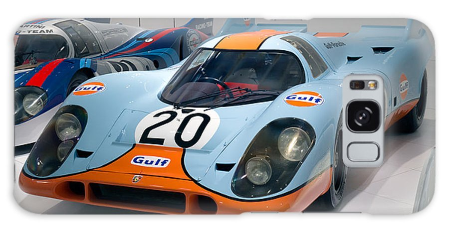 3d Galaxy S8 Case featuring the photograph 1970 Porsche 917 Kh Coupe by Paul Fearn
