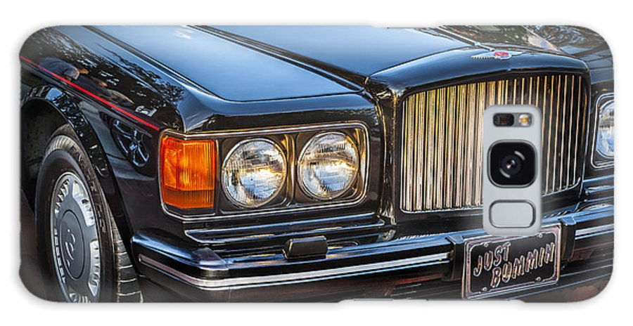 1990 Bentley Galaxy S8 Case featuring the photograph 1990 Bentley Turbo R by Rich Franco