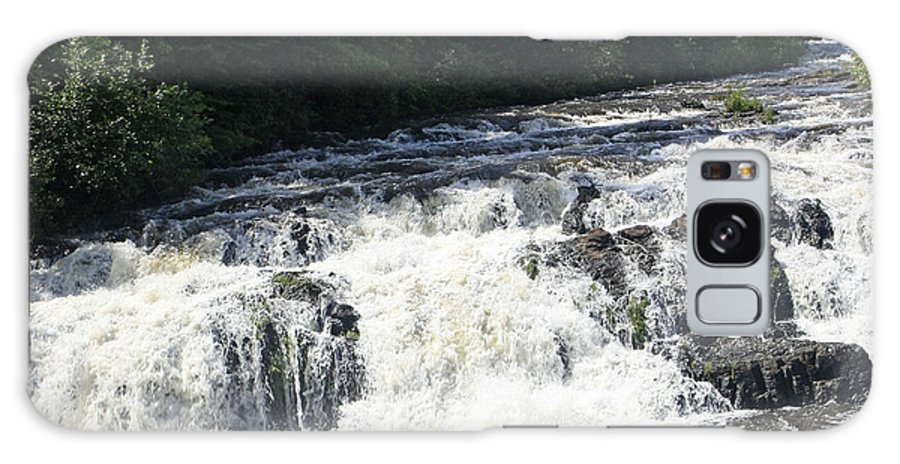 Waterfalls Galaxy S8 Case featuring the photograph A Lovely View Of A Falls On Kayaderosseras Creek by James Connor