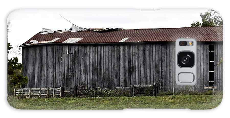 Weathered Galaxy S8 Case featuring the photograph Abandoned Barn Kentucky Usa by Sally Rockefeller