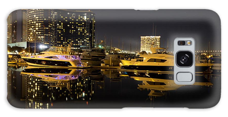 Architecture Galaxy S8 Case featuring the photograph After Dark by Heidi Smith