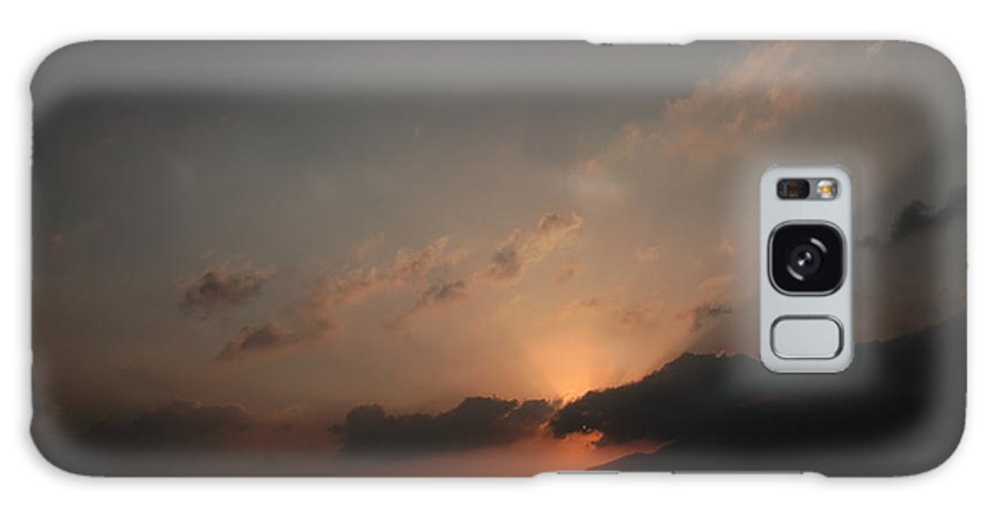 Morning Galaxy S8 Case featuring the photograph Beautiful Sunrise Of Shelapani by Vinod Madhok