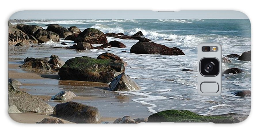 Beach Scape Galaxy S8 Case featuring the photograph Beginnings by Christiane Hellner-OBrien