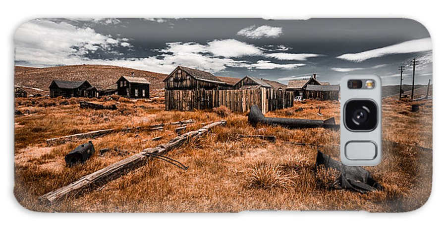 Bodie Ghost Town Galaxy S8 Case featuring the photograph Bodie Ghost Town by Jerome Obille