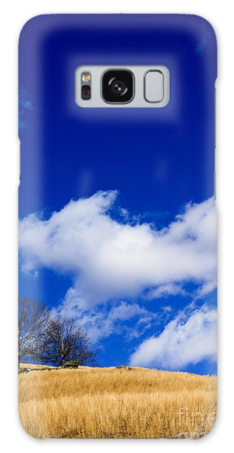 Broomsedge Galaxy S8 Case featuring the photograph Broomsedge On Hill by Thomas R Fletcher