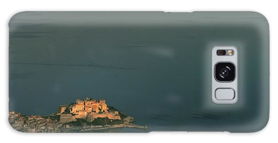 Ancient Galaxy S8 Case featuring the photograph Calvi Port And Citadel In Corsica by Jon Ingall