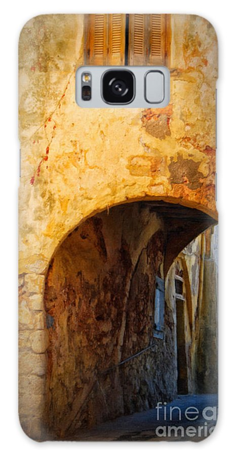 Digital Galaxy S8 Case featuring the painting Chania Alley by Antony McAulay