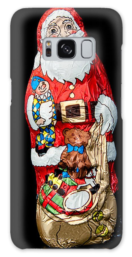 Chocolate Galaxy S8 Case featuring the photograph Chocolate Santa Claus by Frank Gaertner