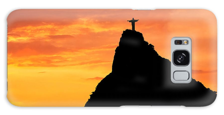 Belief Galaxy S8 Case featuring the photograph Christ The Redeemer by David Davis
