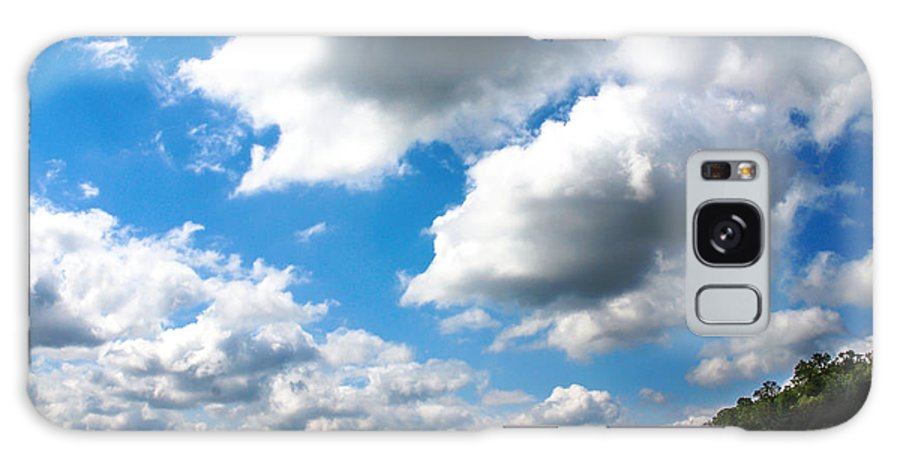 Clouds Galaxy S8 Case featuring the photograph Clouds by Optical Playground By MP Ray