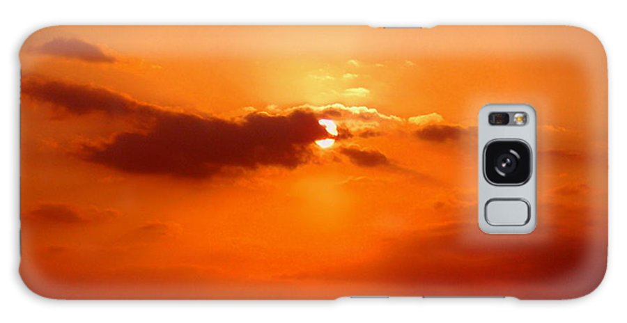 Sunset Pictures Galaxy S8 Case featuring the photograph Cloudscape by Athala Carole Bruckner