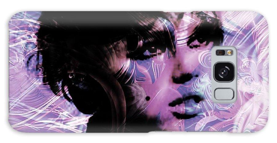 Edie Galaxy S8 Case featuring the digital art Edie by Elizabeth McTaggart