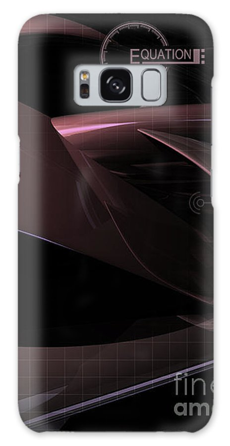 Graphic Design Galaxy S8 Case featuring the digital art Equation by Phil Perkins