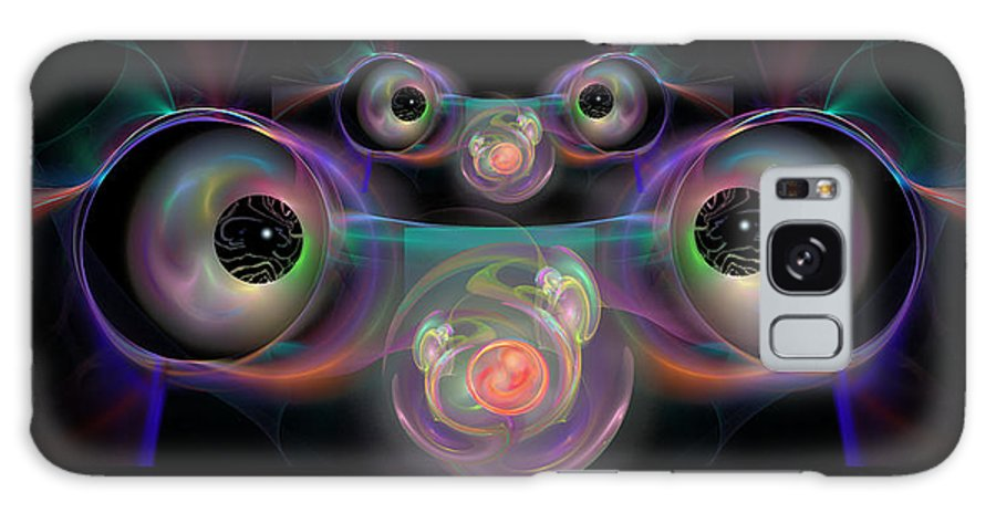 Eyes Galaxy S8 Case featuring the digital art Eyes On The Baby by Judy Powell