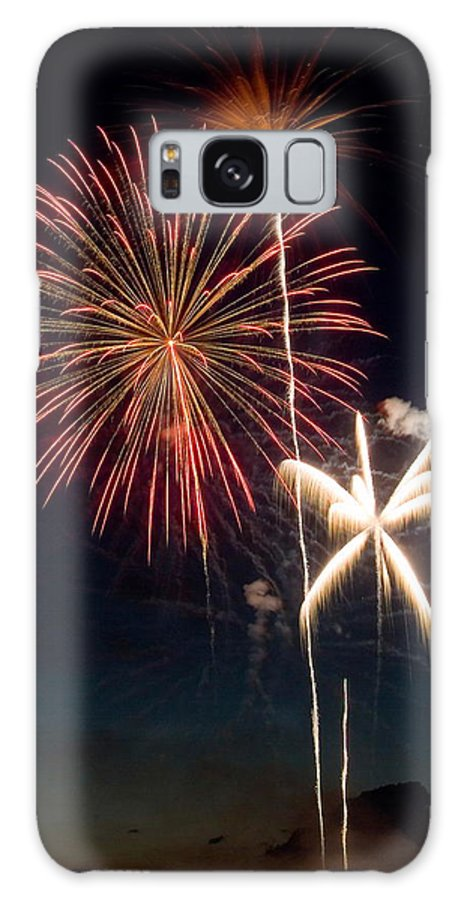 Fireworks Galaxy S8 Case featuring the photograph Fire Works by Devinder Sangha