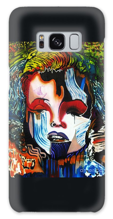 Galaxy S8 Case featuring the painting Goodbye Andy Warhol by Michael Kulick