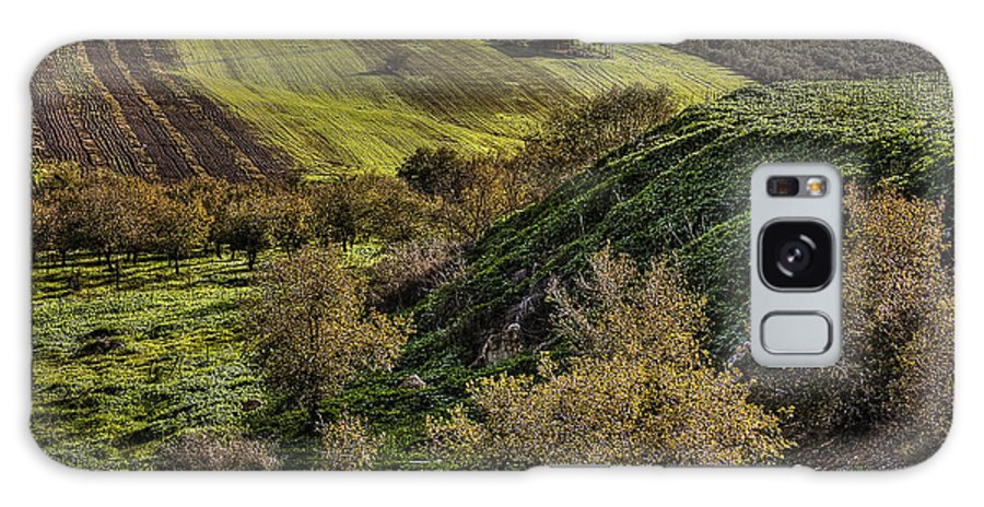 Green Valley Galaxy S8 Case featuring the photograph Green Valley by Isaac Silman