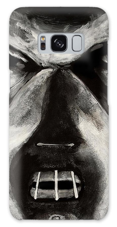 Hannibal Galaxy S8 Case featuring the painting Hannibal by Dale Loos Jr