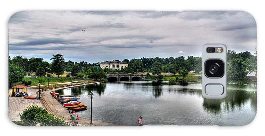 Hoyt Lake Galaxy S8 Case featuring the photograph Hoyt Lake Delaware Park 0004 by Michael Frank Jr