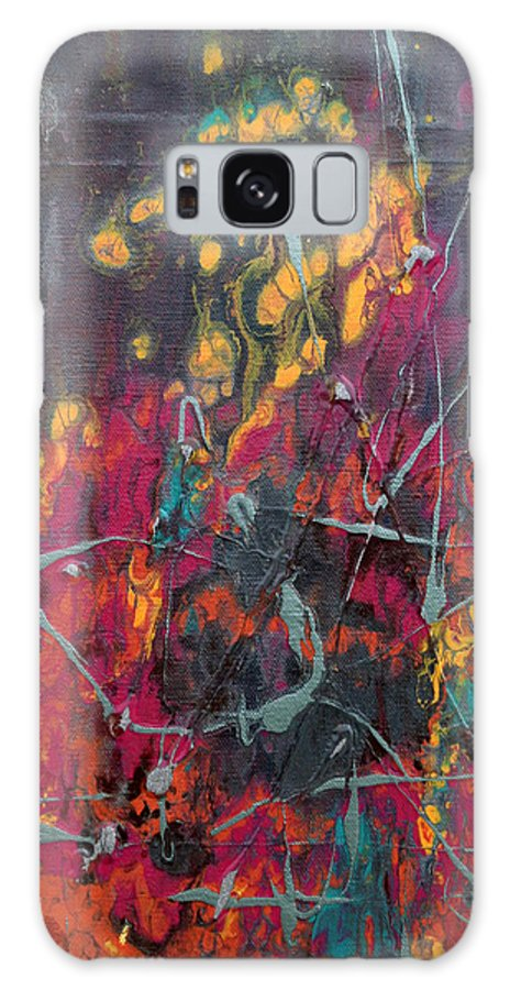 Galaxy S8 Case featuring the painting Ignite by Natalie Starnes
