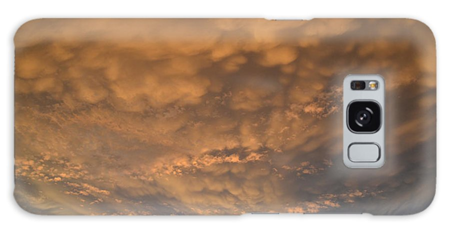 Summer Galaxy S8 Case featuring the photograph July 19-2013 Sunset Sky by Lyle Crump