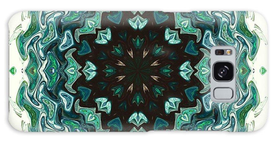 Kaleidoscope Galaxy S8 Case featuring the digital art Kaleidoscope by Elizabeth McTaggart