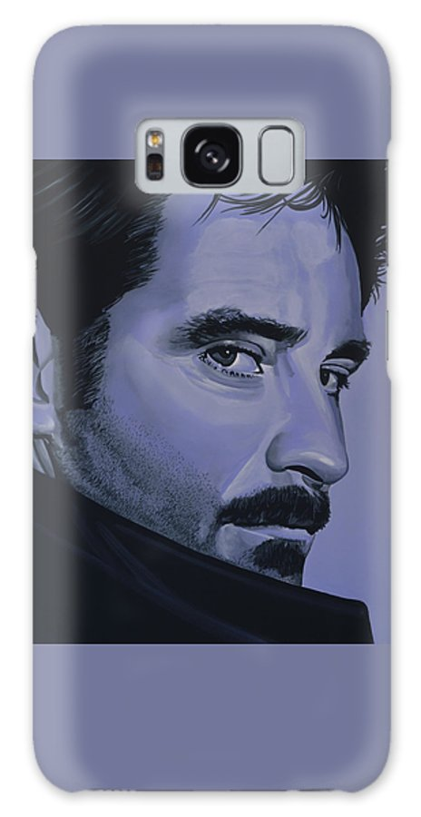 Kevin Kline Galaxy S8 Case featuring the painting Kevin Kline by Paul Meijering