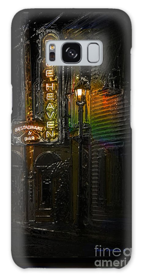 Blue Heaven Galaxy S8 Case featuring the photograph Key West Florida - Blue Heaven Rendezvous by John Stephens