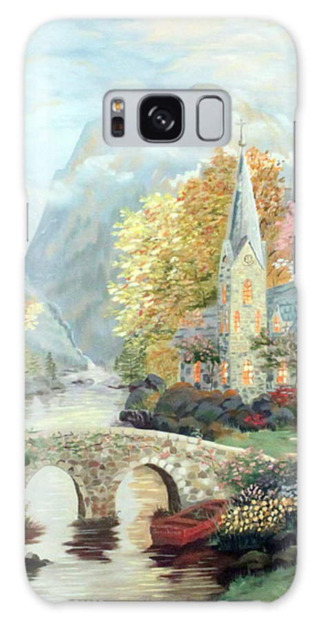 Chapel Galaxy S8 Case featuring the painting Kincade Study by Vickie Black