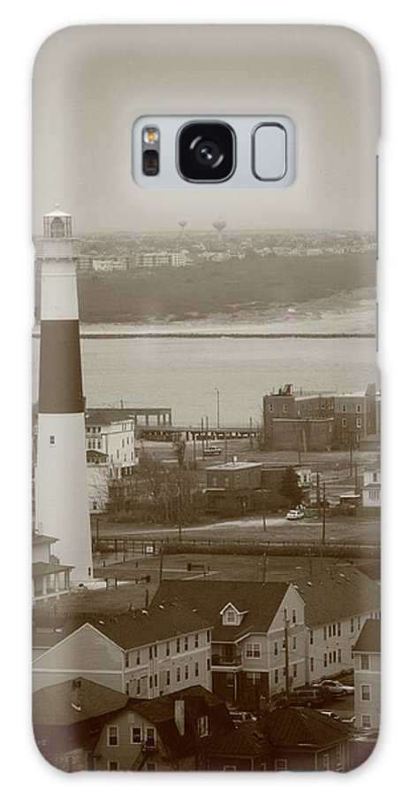 Absecon Galaxy S8 Case featuring the photograph Lighthouse - Atlantic City by Frank Romeo
