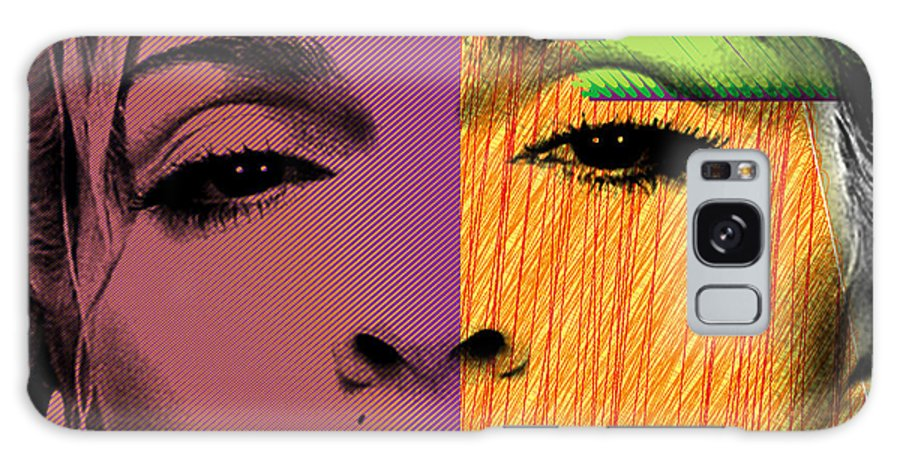 Madonna Galaxy Case featuring the painting Madonna by Mark Ashkenazi