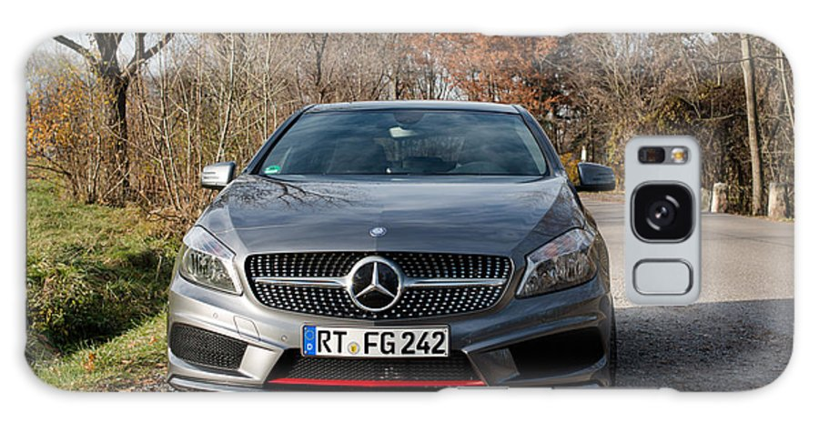 Mercedes Galaxy S8 Case featuring the photograph Mercedes A-class 250 Amg Sport by Frank Gaertner